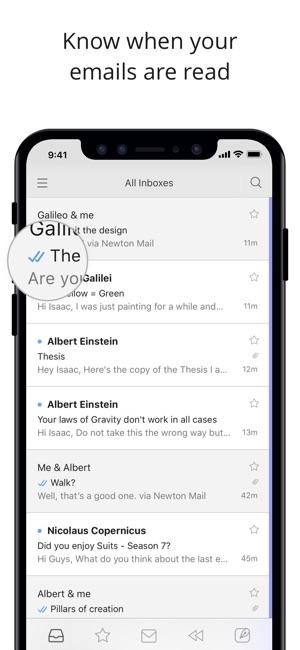 Newton Mail - Email App Screenshot