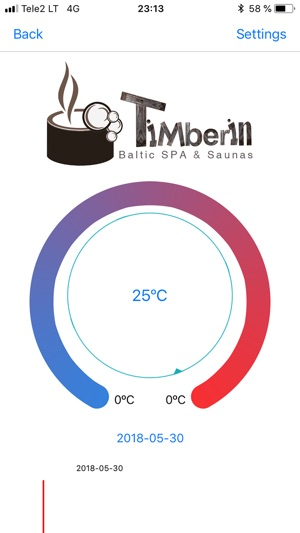 ‎Timberin Temperature Monitor Screenshot