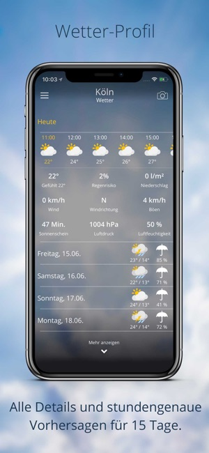 wetter.de Screenshot
