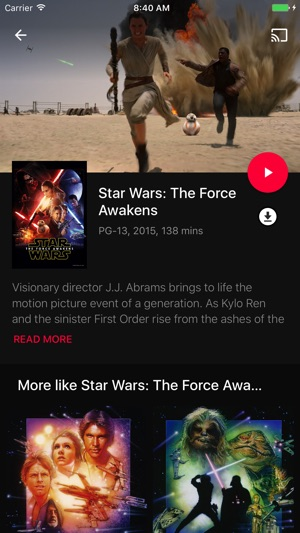 Google Play Filme & Serien Screenshot