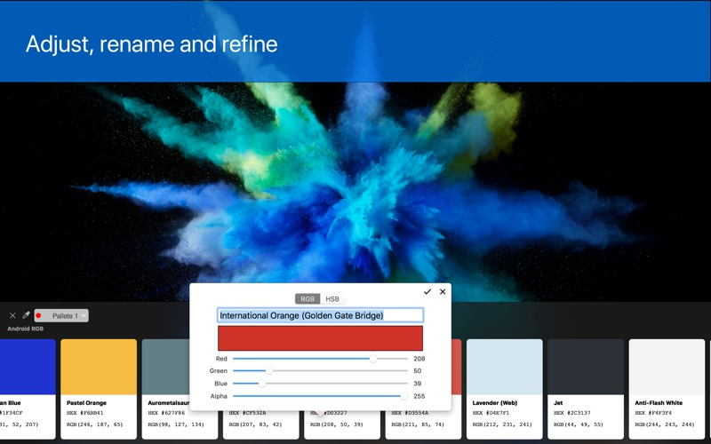 Pikka for Mac 1.4.2 破解版 - 颜色采集器