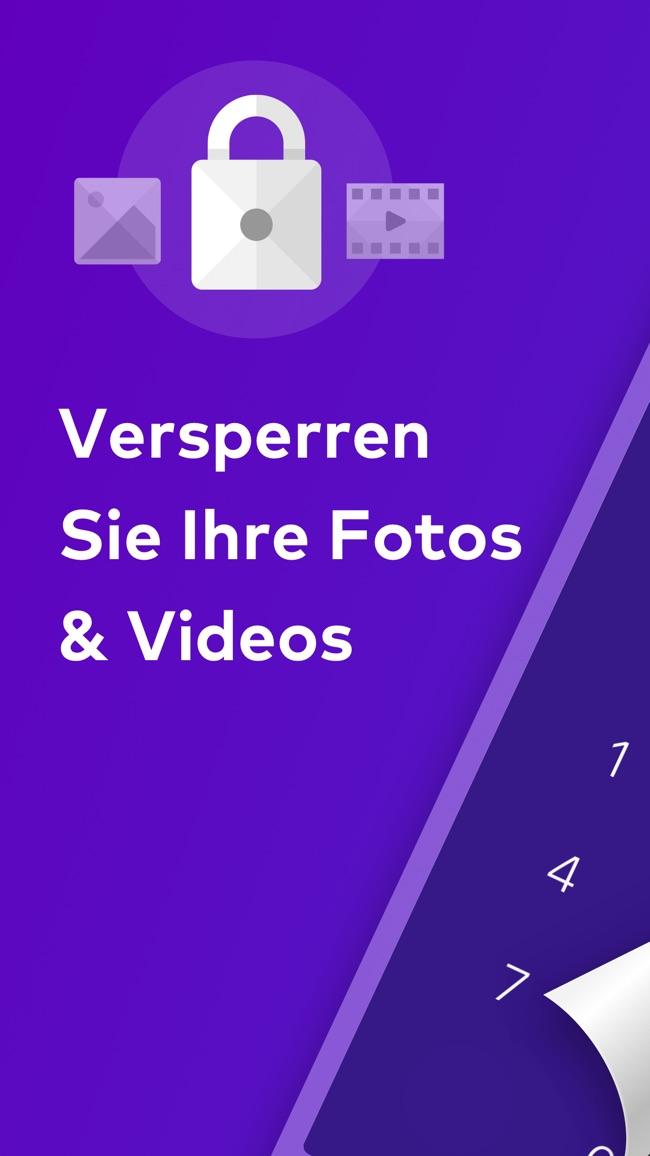 Keepsafe Sicherer Foto Tresor Screenshot