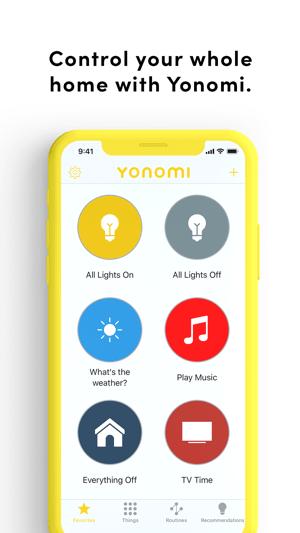 Yonomi Screenshot