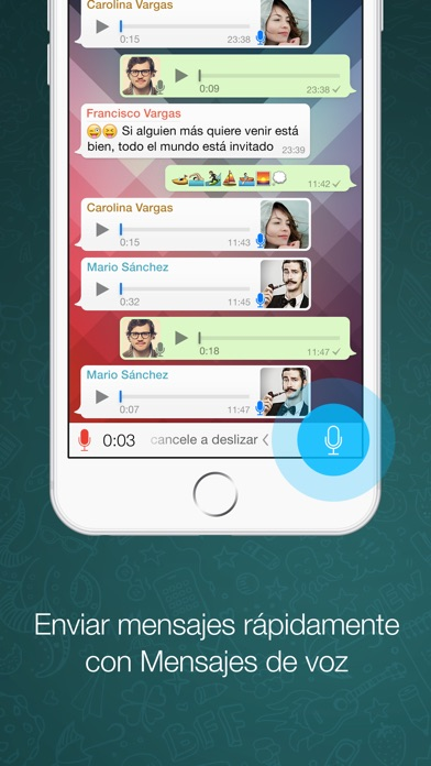 WhatsApp Messenger Screenshot