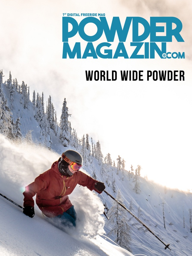 ‎Powder Magazin - Freeride Mag Screenshot