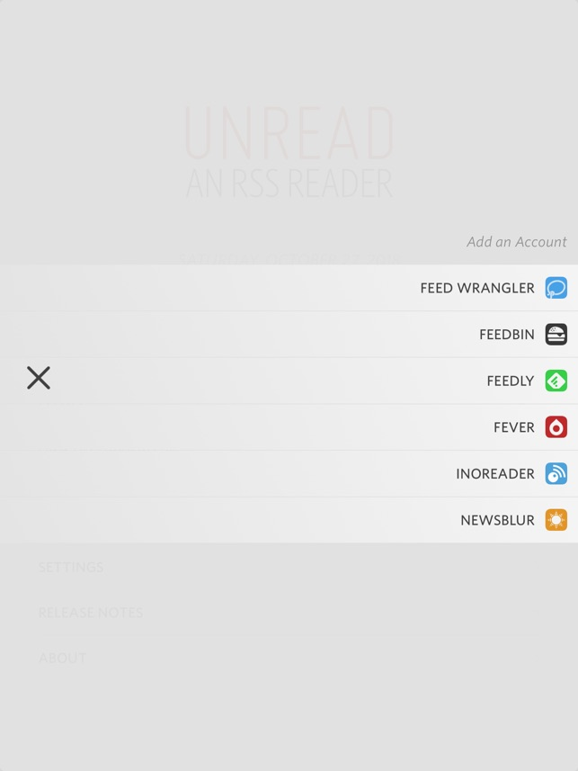 Unread: RSS Reader Screenshot