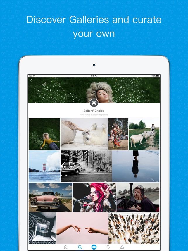 500px Screenshot