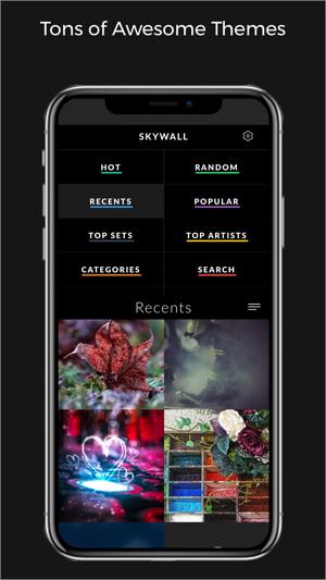 Skywall Pro - HD+ Wallpapers Screenshot