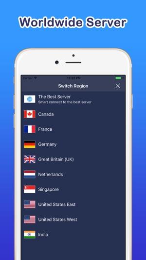 Bestline VPN Super Fast Proxy Screenshot