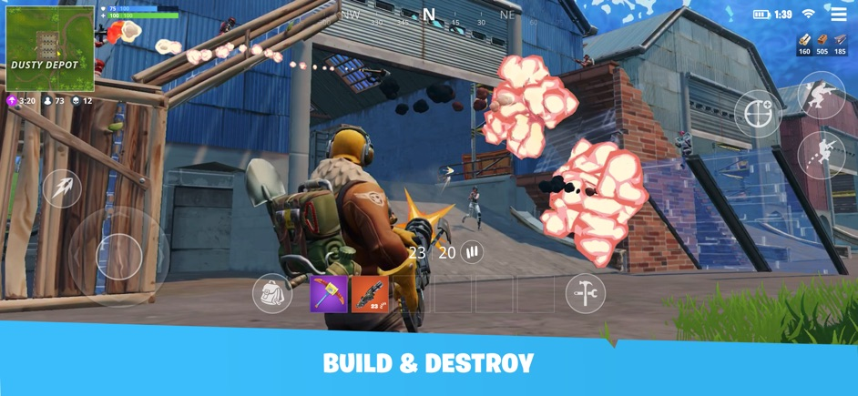 Fortnite na iOS