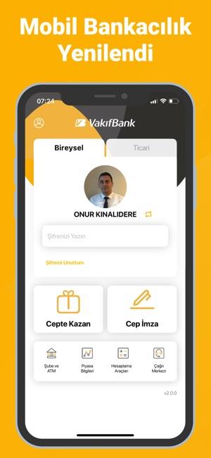 VakıfBank Mobil Bankacılık Screenshot