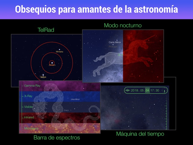 Star Walk HD - Mapa del Cielo Screenshot
