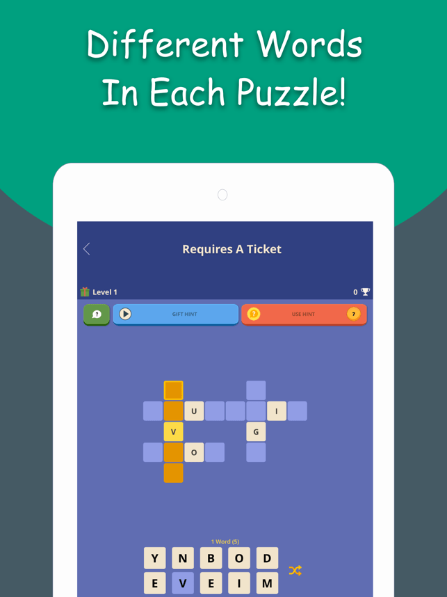 Wordivity - A Word Game Screenshot