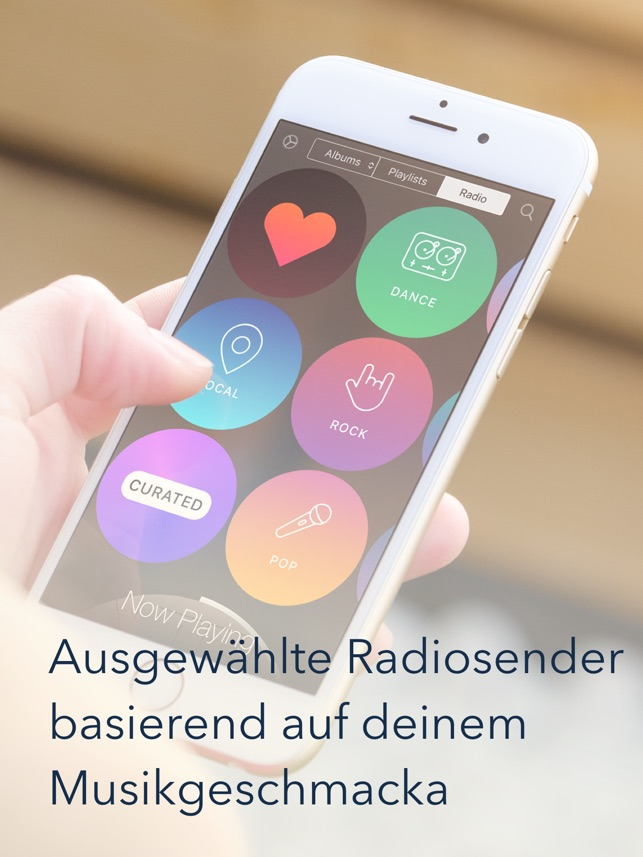 Listen: Der Musik-Player mit Gestensteuerung Screenshot