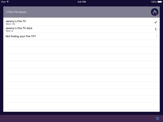 App Shortcuts for Fire TV Screenshot