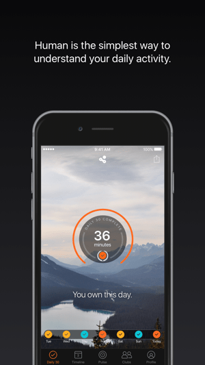 Human - Activity Tracker Screenshot