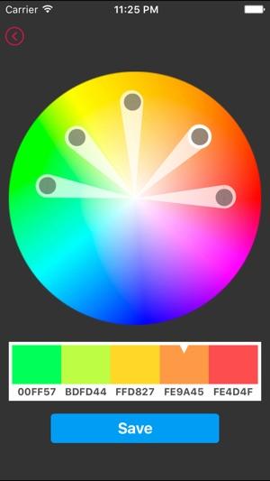 Color Design Screenshot