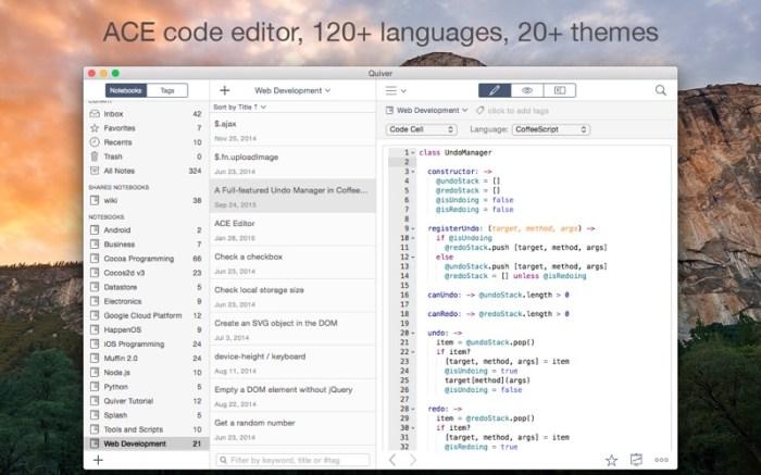 Quiver - take better notes Screenshot 03 rrts6cn