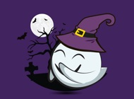 Cute Halloween Ghost - Sticker Pack for iMessage