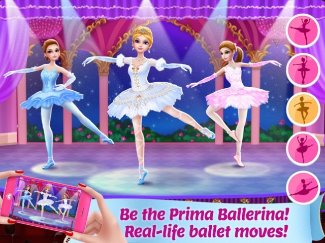 Pretty Ballerina Dancer Screenshot