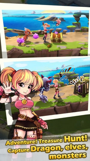 Monster Beach Mania - grow plant in camp as dragon nanny, battle in discord war, build a unison village Screenshot