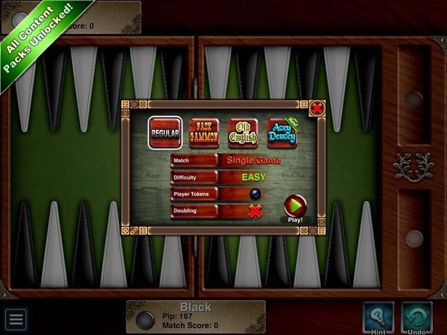 Backgammon HD Screenshot