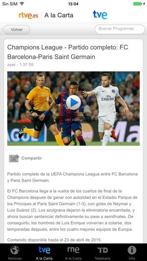 RTVE.es | Móvil Screenshot