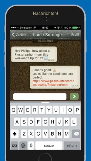 Peakhunter Pro: Offline Tourenplaner mit Topo-Karten, Globales Gipfelbuch Screenshot