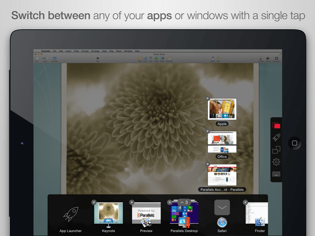 Parallels Access Screenshot