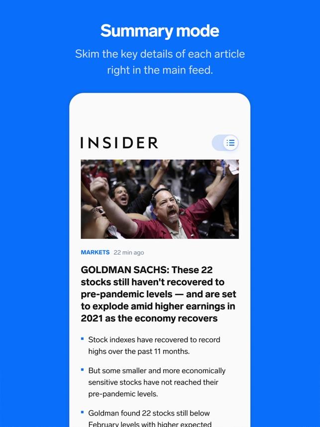 Insider - Business News & More Screenshot