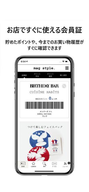 magstyle. Screenshot