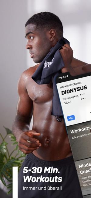 Freeletics: Fitness Workouts Screenshot