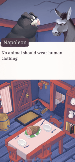 ‎Orwell's Animal Farm Screenshot