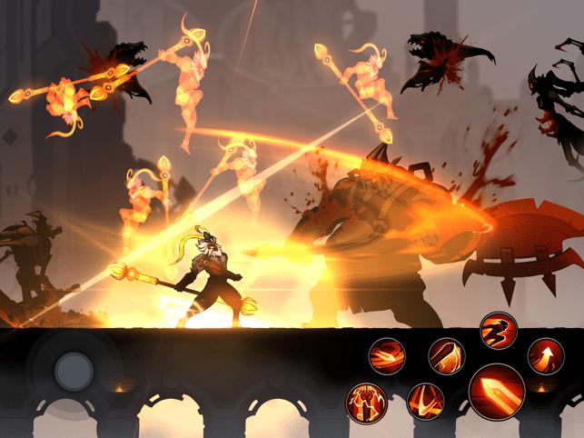 Shadow Knight Premium Fighting Screenshot