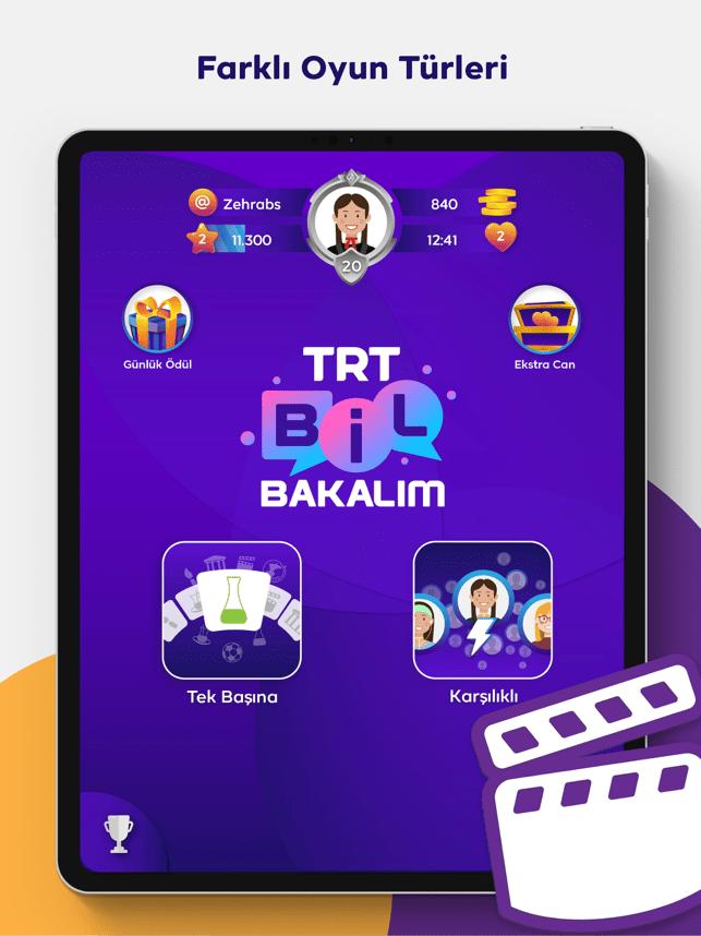 TRT Bil Bakalım Screenshot