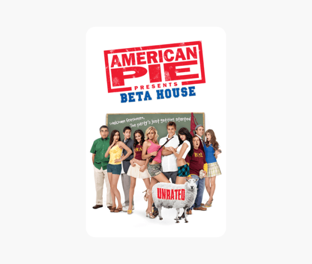 American Pie Presents Beta House Unrated On Itunes
