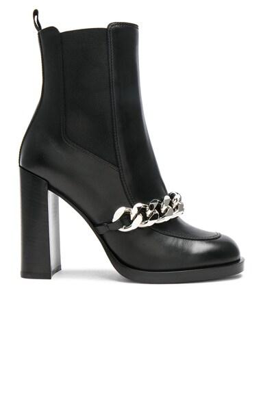 Givenchy Lock Camel Boots Shark