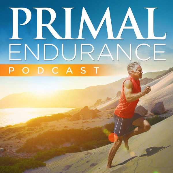 The Primal Endurance Podcast photo with Mark Sisson running up a hill using the Maffetone Method