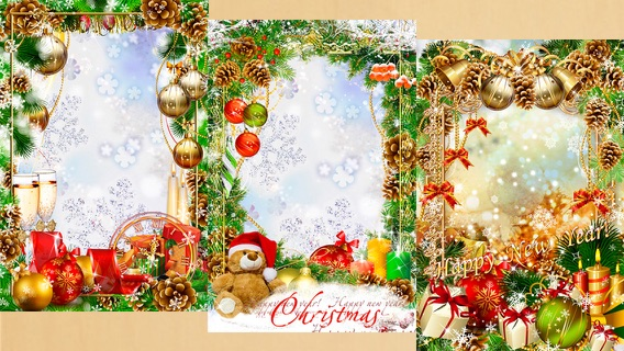 Free Christmas Photo Frame Apps   Amtframe org