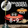 Arithmetic Invaders: Grade 1 Math Facts