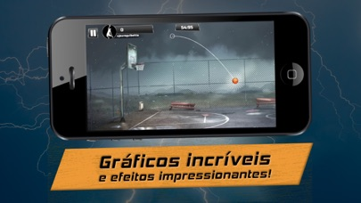 Screenshot do app iBasket Pro- Street Basketball