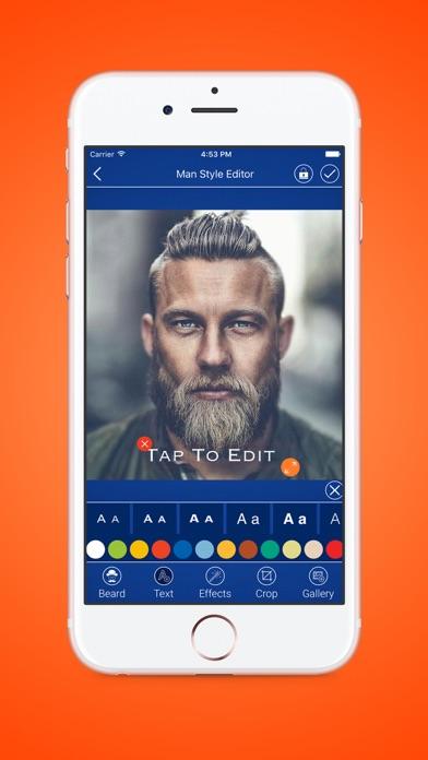 Man Style Photo Editor Beard Mustache Sunglass App