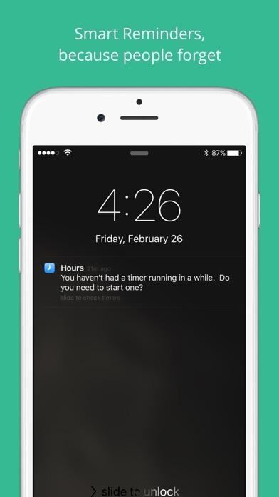 Hours - учет времени Screenshot