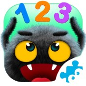 Yum-Yum Numbers: counting and tracing 123 for kids