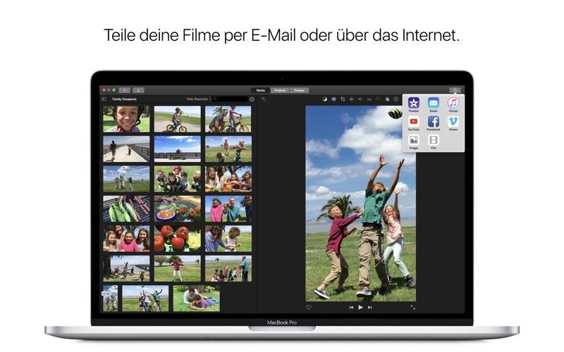 iMovie Screenshot