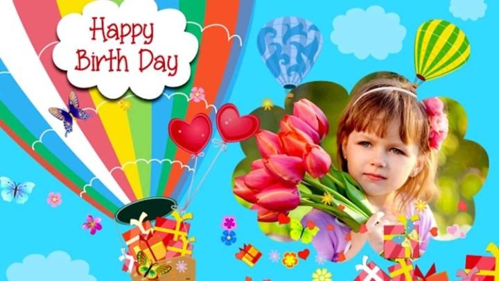 Happy Birthday Image Frame App | Frameswall.co