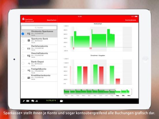 Sparkasse+ für iPad Screenshot