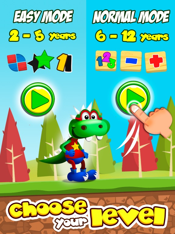 Dino Tim: Basic math games, preschool activities Screenshot