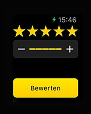 mytaxi - Die Taxi App Screenshot