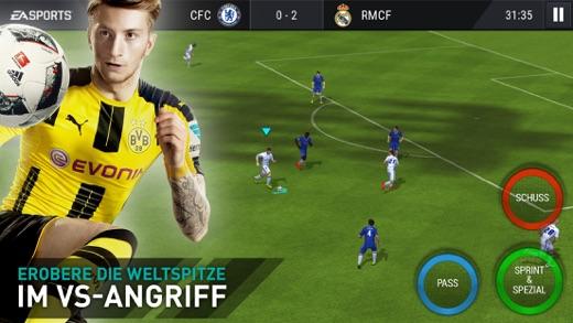 FIFA Mobile Fußball Screenshot